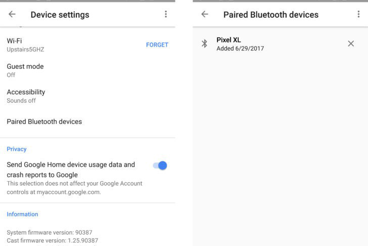 Google Home cập nhật tính năng mới: phát nhạc sang loa không dây khác bằng kết nối Bluetooth