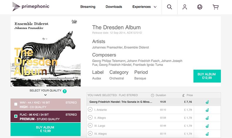 Những địa chỉ mua nhạc số hi-res đáng tin cậy dành cho audiophile