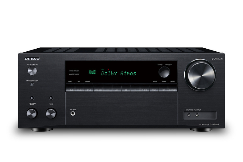 Onkyo bổ sung thêm AV Receiver TX-NR585 cho phân khúc phổ thông