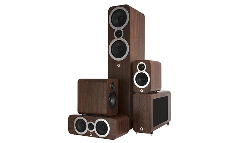 Q Acoustics tung ra loạt loa 3000i với 5 model mới