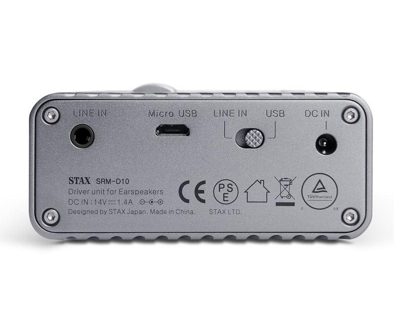 Thương hiệu tai nghe tĩnh điện Stax trình làng DAC tích hợp amplifier SRM-D10
