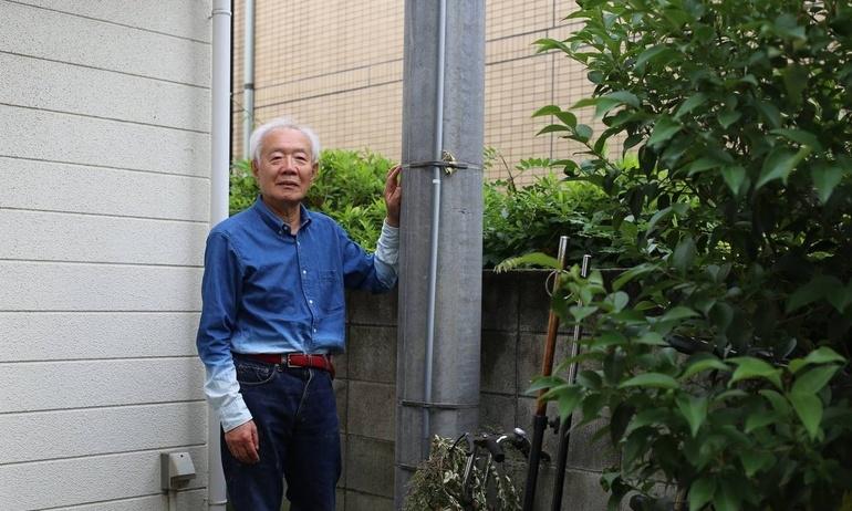 Cụ Đá tảng 82 tuổi giồng cột điện chơi hi-end