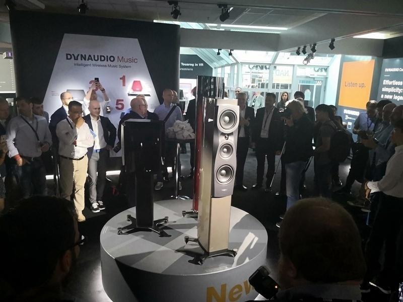 [Munich Hi-end Show 2018] Dynaudio sắp sửa tung ra dòng loa hi-end Confidence thế hệ mới