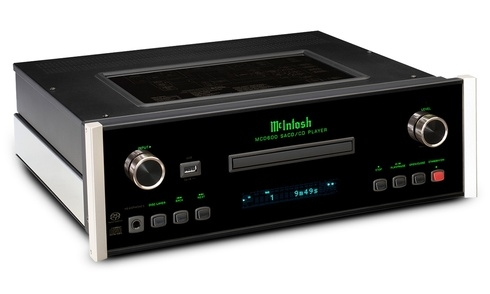 McIntosh giới thiệu bộ đôi đầu phát MCD600 SACD/CD player và MS500 streamer