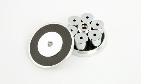 Oyaide STB-MSX: Cục chặn đĩa nhựa cho người chơi vinyl