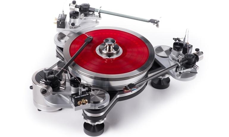 VPI sẽ có 3 mâm đĩa than Avenger được lắp ráp tại Anh