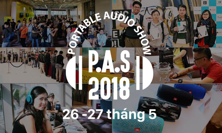 [P.A.S SAIGON 2018]  THỎA CƠN NGHIỀN SHOPPING LOA DI ĐỘNG - TAI NGHE