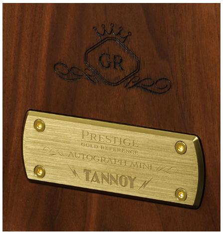TANNOY hồi sinh dòng loa Autograph Mini với phiên bản Prestige Gold Reference