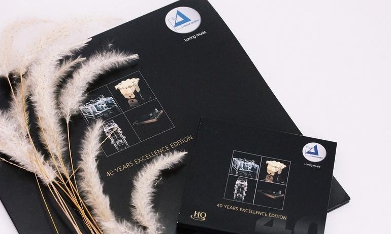 Nghe LP và CD kỷ niệm 40 năm Clearaudio