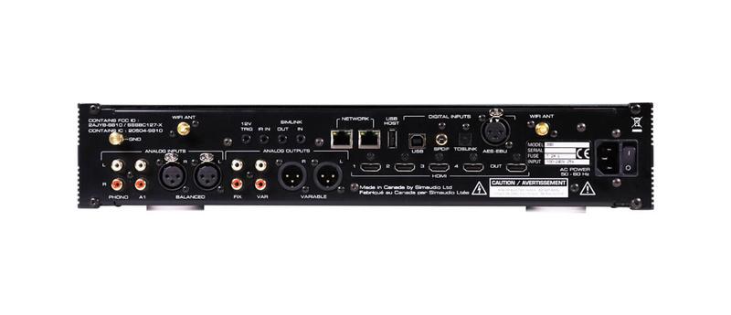 Simaudio MOON 390: Chiếc đầu phát của kỷ nguyên streaming