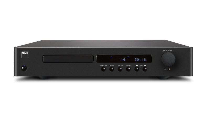 NAD ra mắt đầu CD C 538, thiết kế mỏng gọn, giá rẻ