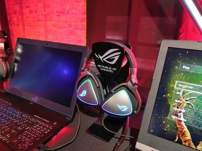 [Computex 2018] Asus hé lộ dòng tai nghe tích hợp Quad DAC dành cho game thủ