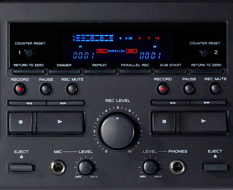 W-1200: Đầu cassette 2 cửa băng mới từ TEAC Audio