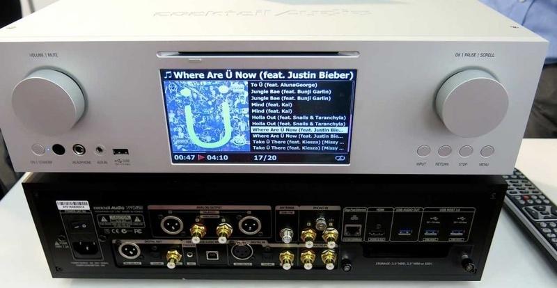 Cocktail Audio giới thiệu phiên bản nâng cấp của Music Server X45