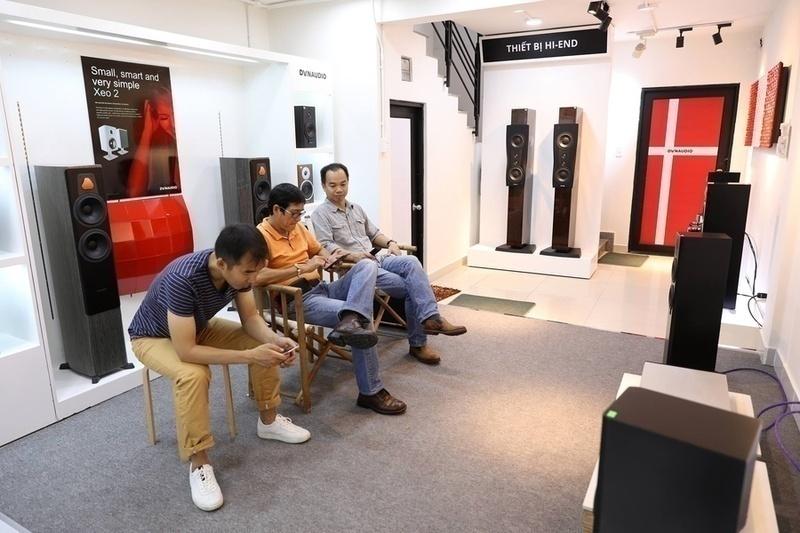 HiFi World khai trương showroom mới tại TP.HCM