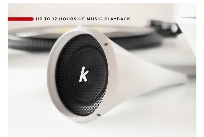 Kozmophone: Dự án mâm đĩa vinyl độc đáo đang hút vốn cực nhanh trên Kickstarter