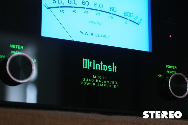 McIntosh MC611 Monoblock: Khủng long kỷ băng tan