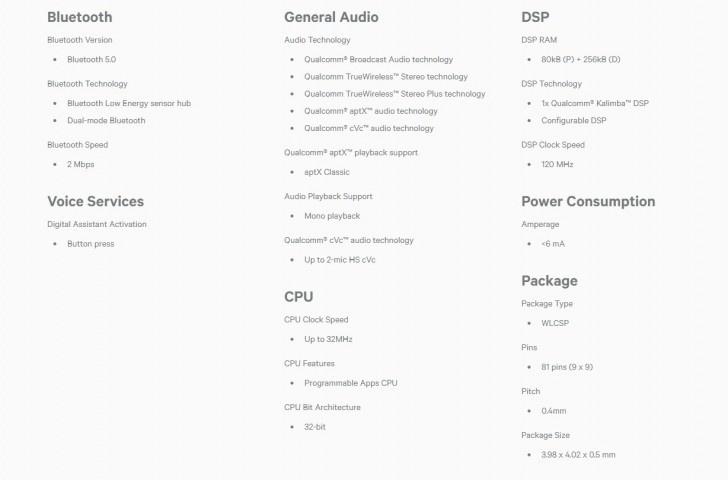 Qualcomm trình làng chip xử lý QCC3026: Giải pháp cho các dòng tai nghe true-wireless giá rẻ?