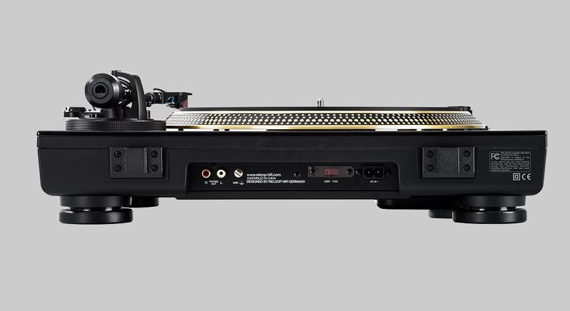 Reloop Hifi ra mắt dòng mâm đĩa than Turn 5
