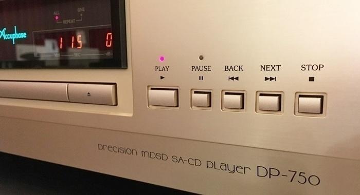 Accuphase DP-750: Chiếc đầu phát cao cấp dành cho cả nhạc số và CD/SACD