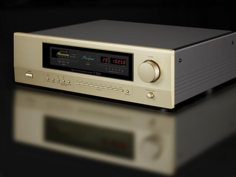 Accuphase DDS FM Stereo Tuner T-1200: Nghe đài FM chuẩn hi-end