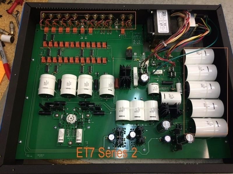 Conrad Johnson phát hành line-stage pre-amp ET7 thế hệ thứ 2