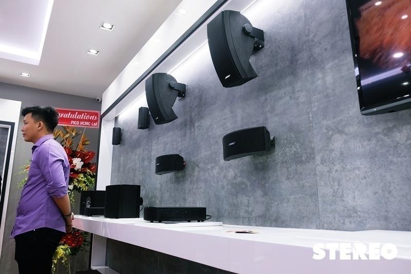 Mai Nguyên khai trương cửa hàng chuyên về âm thanh và Bose Store tại Sài Gòn Centre