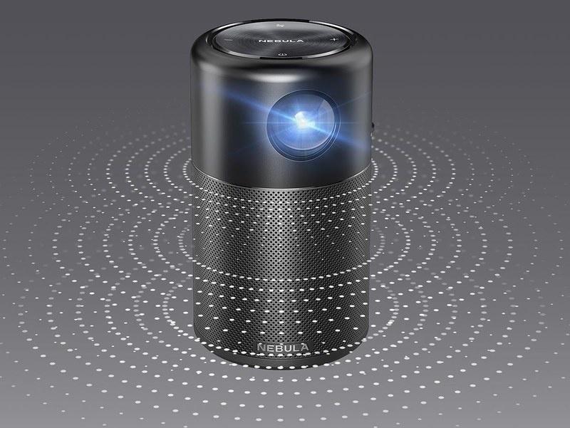 Anker Nebula Capsule Pro: Loa di động tích hợp máy chiếu độc đáo