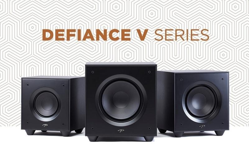 Paradigm giới thiệu dòng loa siêu trầm Defiance Series