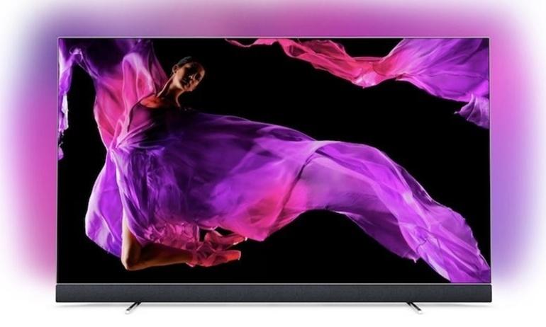 Philips thông báo loạt TV OLED 903 mới của hãng sẽ được tích hợp loa soundbar B&W