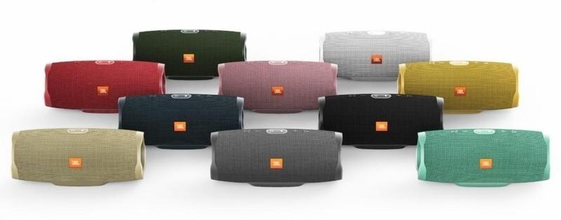 JBL bán ra loa di động Charge 4 với 10 tùy chọn màu sắc, giá 3,5 triệu đồng