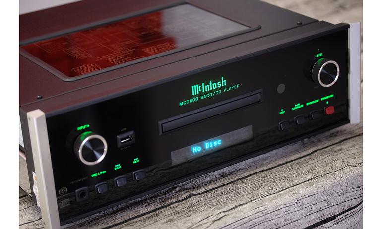 McIntosh SACD/CD Player MCD600: Bạn đồng hành mới cho người yêu đĩa CD