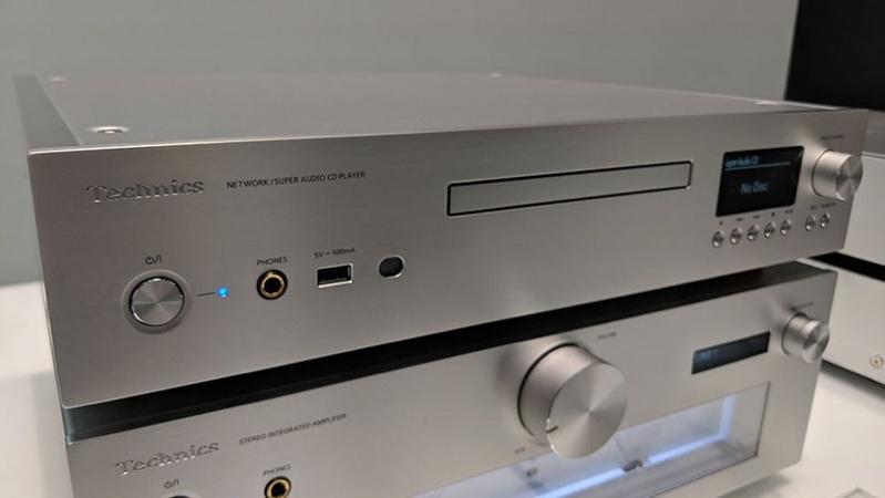 Technics giới thiệu đầu SACD kiêm network streamer SL-G700