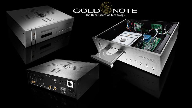 Gold Note phát hành phiên bản mới của đầu phát CD-1000, thiết kế lại để cải thiện sự ổn định
