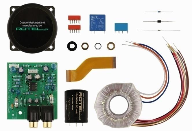 Rotel phát hành ampli tích hợp phổ thông A11