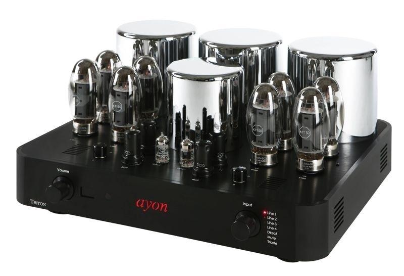 Ayon Audio công bố ampli đèn tích hợp Triton III Gen 4