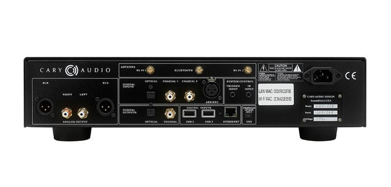 Cary Audio giới thiệu bộ đôi đầu phát nhạc số DMS-550 và DMS-600