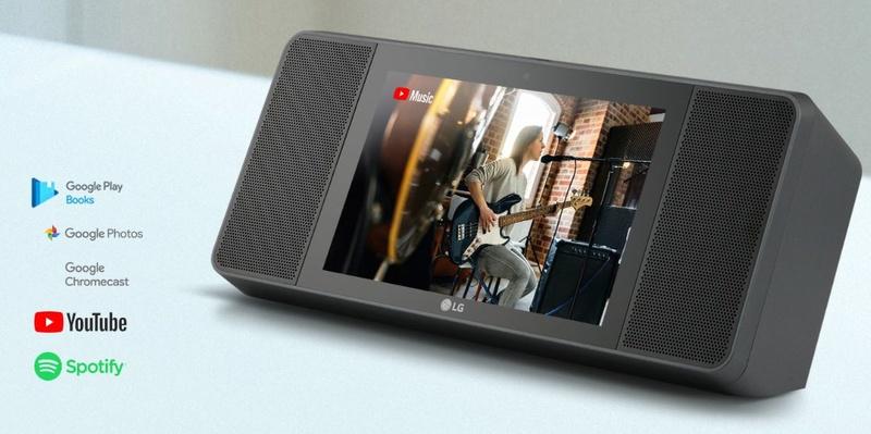 LG ra mắt loa thông minh kèm màn hình để cạnh tranh cùng Amazon