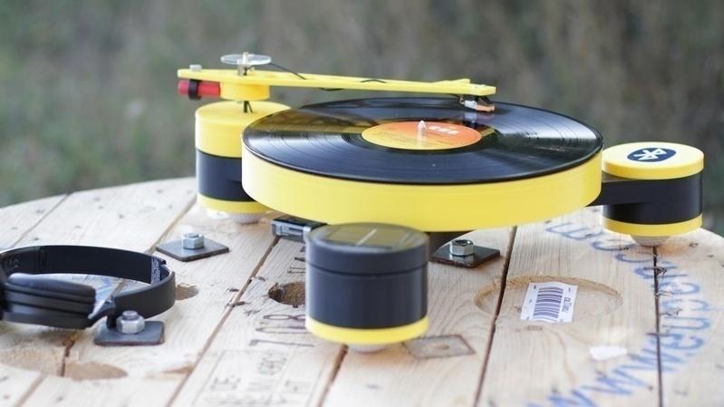 Lenco-MD: Chiếc mâm đĩa than đầu tiên được làm từ công nghệ in 3D