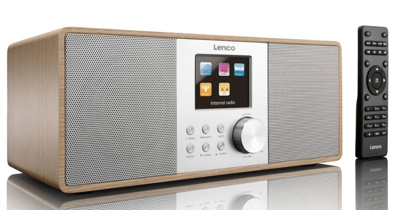 Lenco mở bán radio DIR-200 và loa không dây dạng cột BTL-450