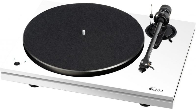 Music Hall mở rộng mảng turntable bằng mâm đĩa than MMF 3.3