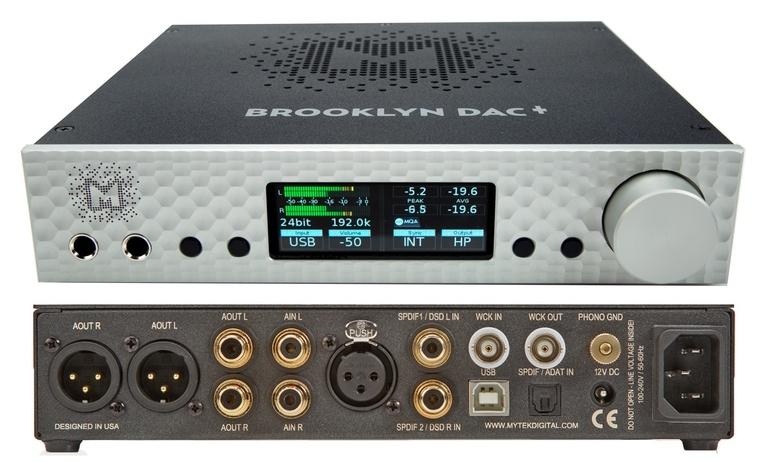Mytek phát hành Brooklyn DAC+: Bộ giải mã cao cấp dành cho cả audiophile và giới chuyên nghiệp