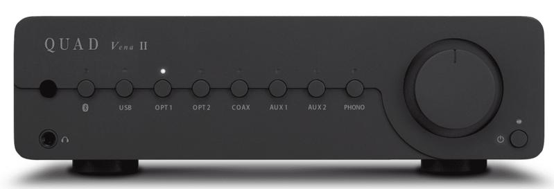 Quad ra mắt ampli tích hợp Vena II dành cho phân khúc phổ thông