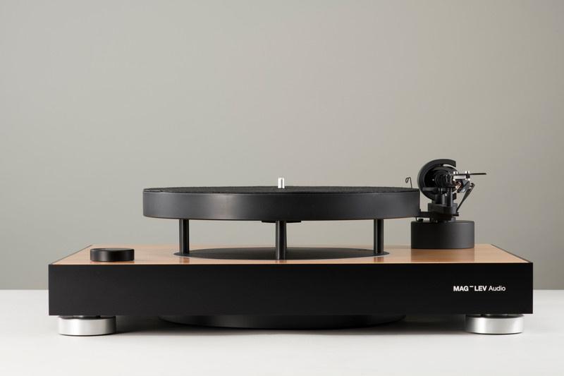 MAG-LEV Audio ML-1: Chiếc mâm đĩa than với thớt xoay lơ lửng