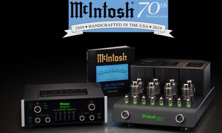 McIntosh đánh dấu 70 năm thành lập với dòng sản phẩm giới hạn Commemorative System