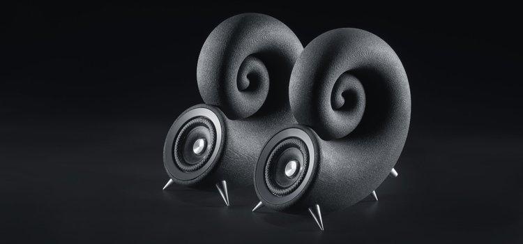 Chiêm ngưỡng Deep Time Ionic Sound System: Bộ loa hình xoắn ốc độc đáo đến từ Cộng hòa Séc