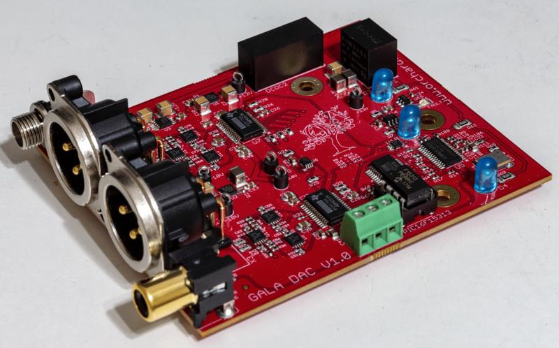 Orchard Audio phát hành bộ giải mã giá rẻ mang tên GALA DAC
