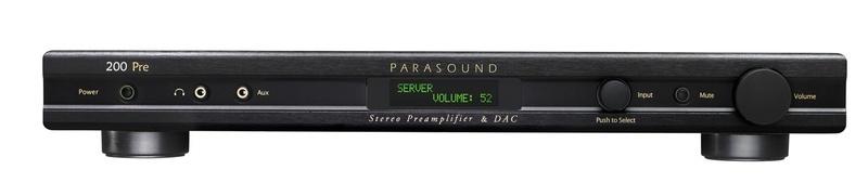 Parasound công bố bộ giải mã kiêm ampli tiền khuếch đại NewClassic 200 Pre