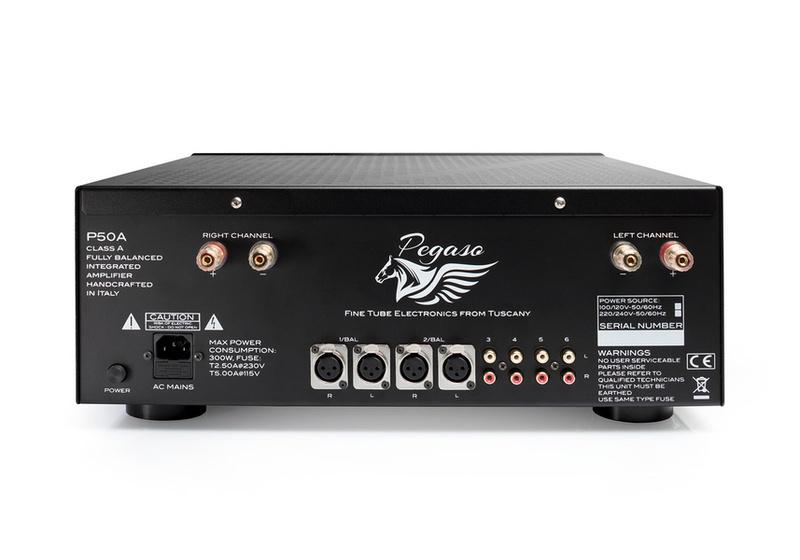 Pegaso Audio chào sân với mẫu ampli tích hợp cao cấp P50A