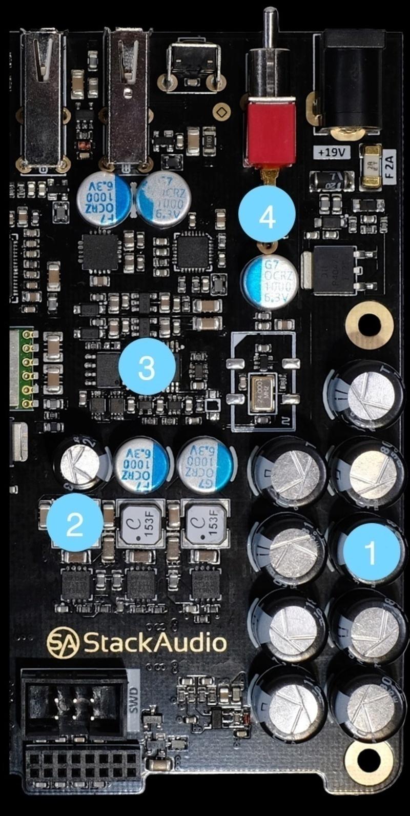 Stack Audio Link: Bộ nguồn phát nhỏ gọn và toàn diện dành cho nhạc số
